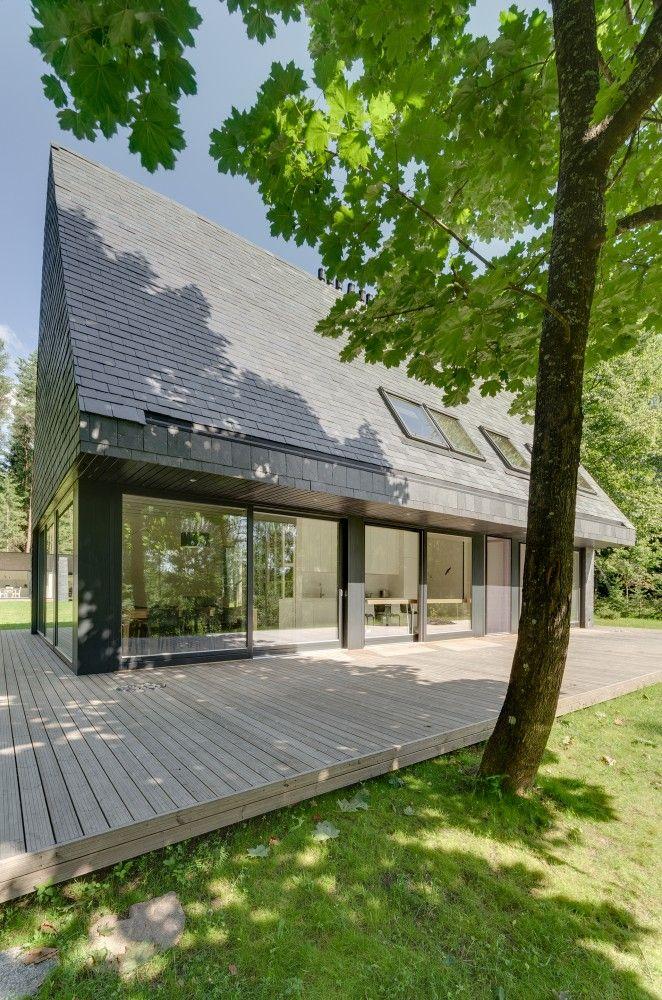 House In Trakai_Lithuania / Aketuri Achitektai