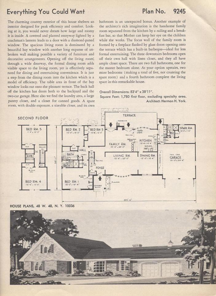 147 best f l o o r p l a n images on Pinterest Vintage houses