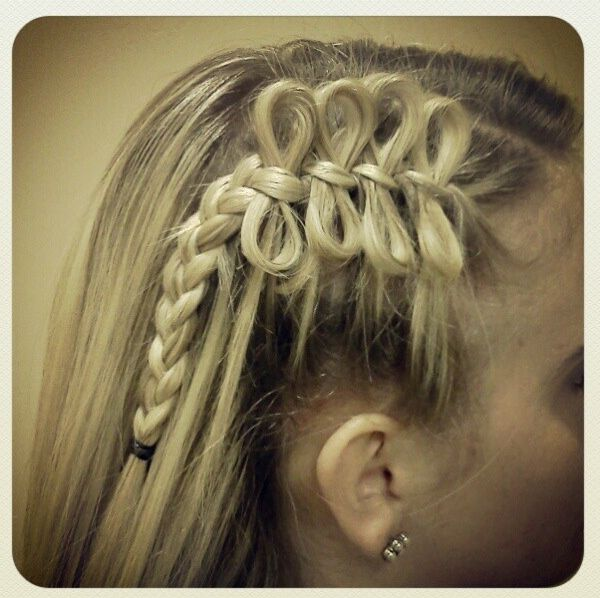17 best Bow Braid Hairstyles images on Pinterest | Bow ...