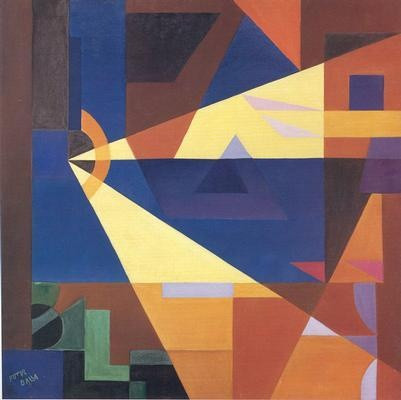 Seraluci by Giacomo Balla -great for teaching mixing shades