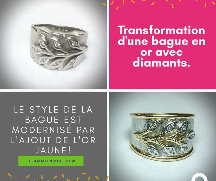 Il suffit de changer quelques détails sur un bijou pour changer totalement le look!  Venez nous voir, nous avons des idées plein la tête!!