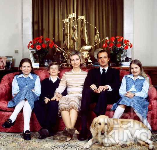 cotilleando:  Elena, Felipe, Queen Sofia, King Juan Carlos, Cristina