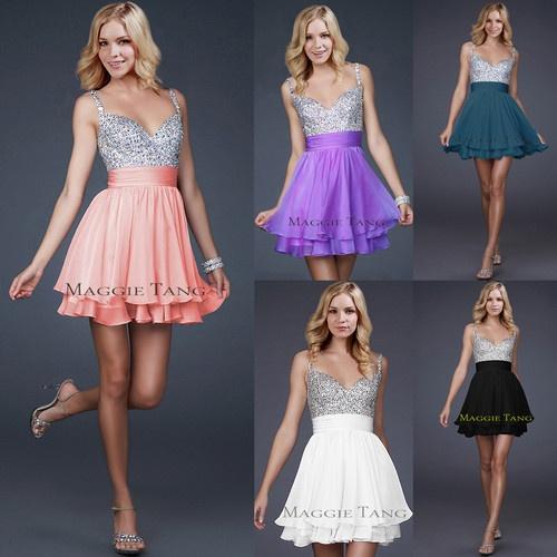 Bridesmaid Cocktail Birthday Homecoming Graduation Sweet 16 Prom Party Dress | eBay