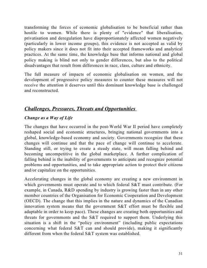 Threat Of Globalization Essay Vision Professional Global Essays