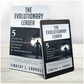 "One of the best and most comprehensive books on leadership have been released this week. It is ""The Evolutionary Leader"" by Timothy J. Carroll who aspires to change the way you are thinking about leadership and yourself. Timothy J. Carroll is a Leadership Consultant, Executive Coach and Keynote Speaker with a long practical experience on the [...]"
