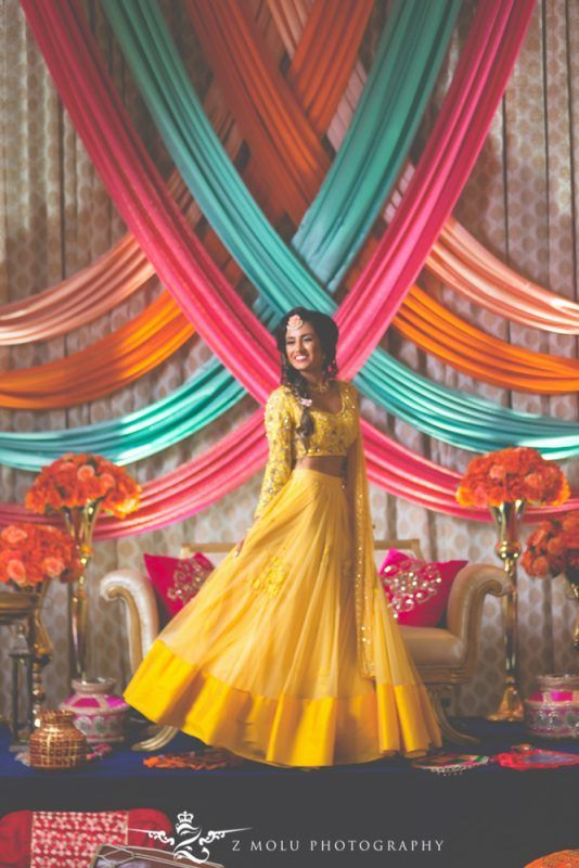 Yellow Is No More A Haldi Color! These Real Brides Totally Rocked In Yellow At Other Nuptials.
