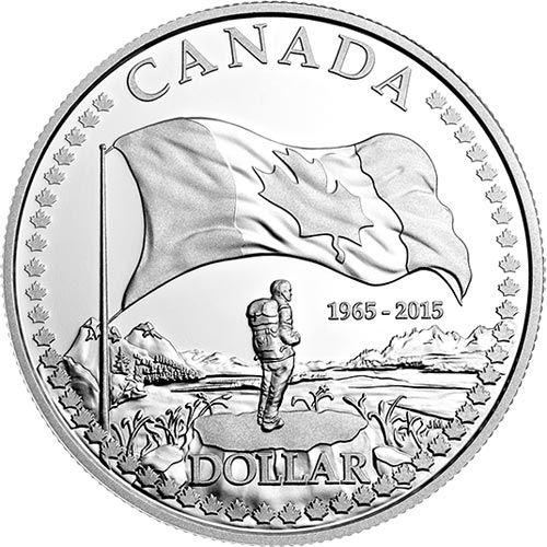"""Canada 1 dollar plata proof 2015 """"50 Aniversario Bandera de Canadá""""  La moneda de dollar Proof, muestra un mochilero y por detrás la bandera de Canadá, con la hoja de Arce. Composición: Plata de 999 milésimas. Peso: 23,17gr. Diámetro: 36,07mm.  http://www.filatelialopez.com/canada-2015-aniversario-bandera-canada-plata-proof-p-18084.html"""