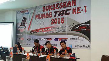 update Munas Komunitas TAC Mencari Nahkoda Baru
