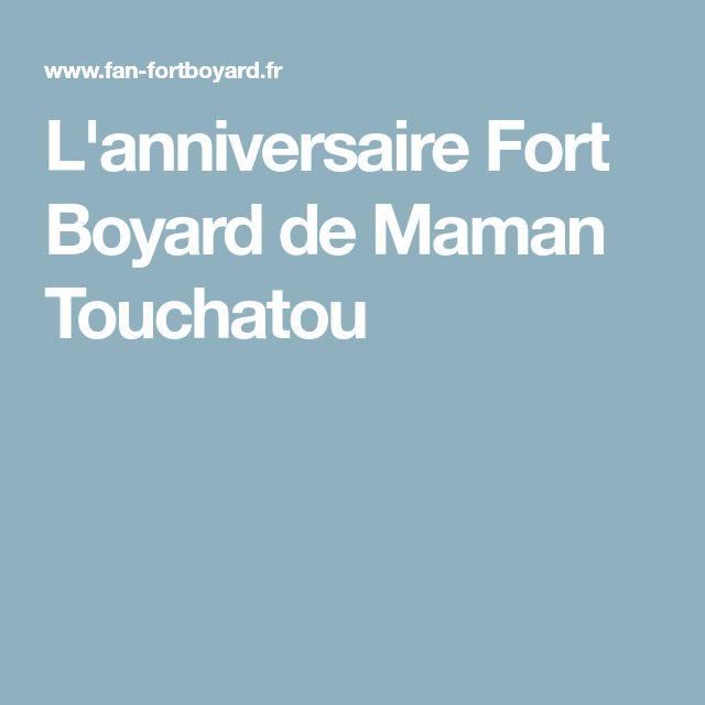 L'anniversaire Fort Boyard de Maman Touchatou
