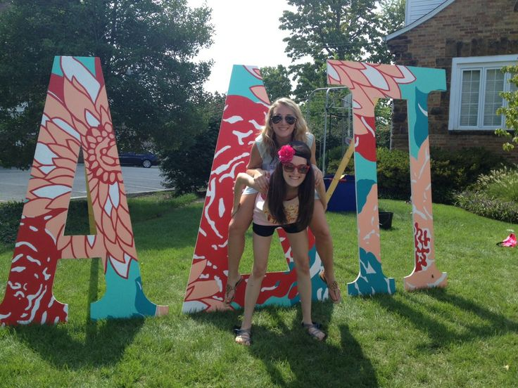 go big sorority sugar sorority paintedsorority wooden letterssorority