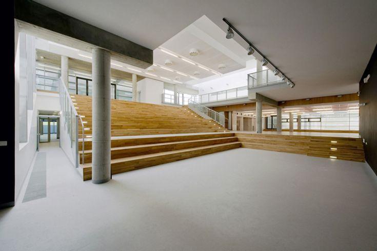 Herman Hertzberger, Marco Scarpinato · Complesso Scolastico Integrato, Auditorium e Palestra · Divisare