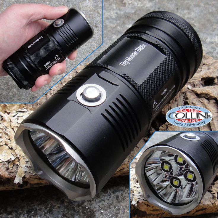 Nitecore - Tiny Monster TM06S - Cree XM-L2 - 4000 lumens - torcia LED