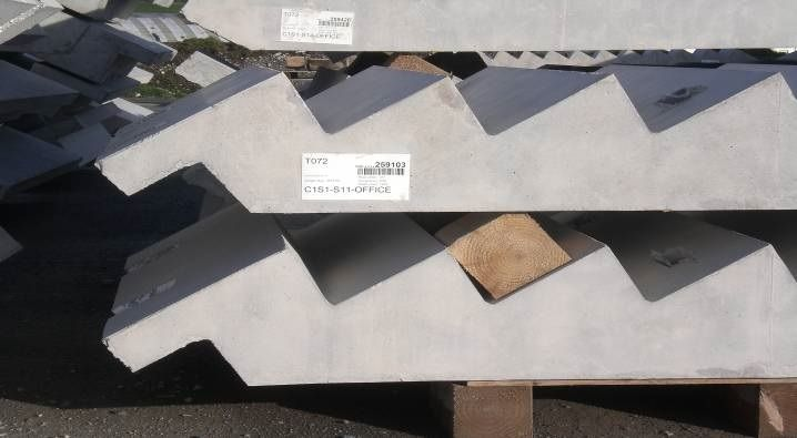 Precast Concrete Stairs for Sustainable Homes Efficiency Ratings.