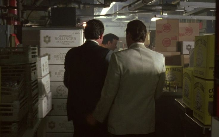 Bollinger Champagne, Lucky Strike Cigarettes & Cutty Sark Whisky - Goodfellas (1990) Movie Scene