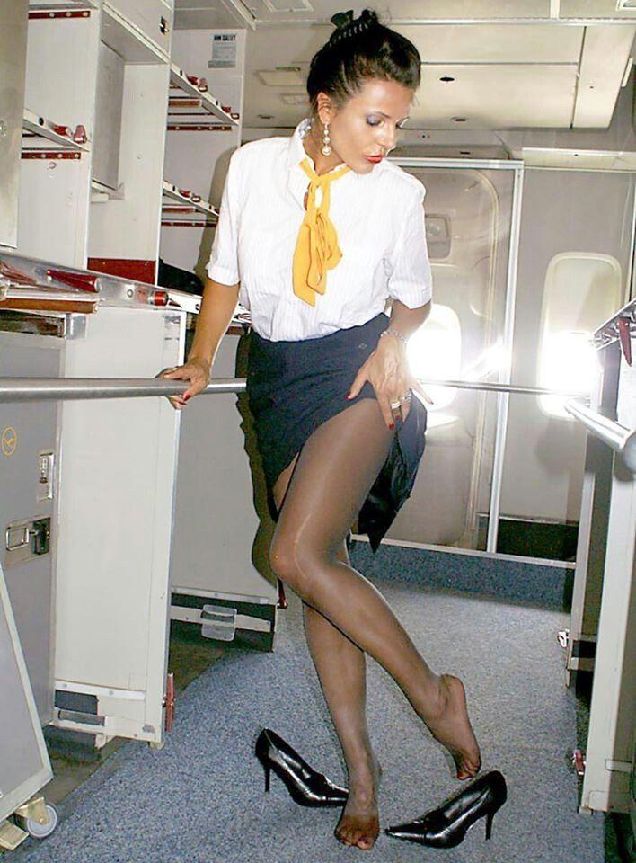 Airhostess Fucking In Flight 105