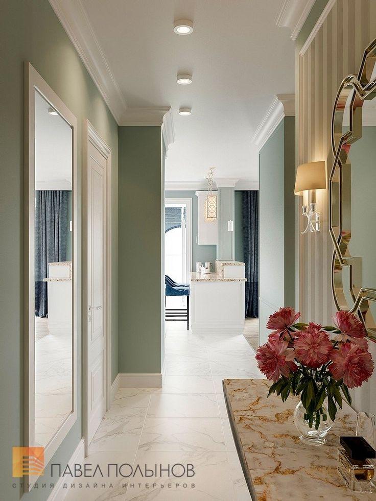 Фото: Дизайн холла - Квартира в стиле американской неоклассики, ЖК «Академ-Парк», 107 кв.м.