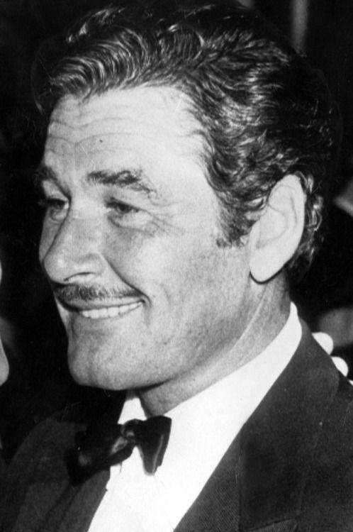 Errol Flynn, 1950s.
