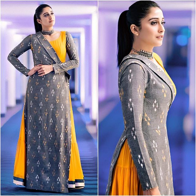 @reginaacassandra Outfit - @anishavuppala.official Styled by - @indpat #bollywood #style #fashion #beauty #bollywoodstyle #bollywoodfashion #indianfashion #celebstyle #reginacassandra