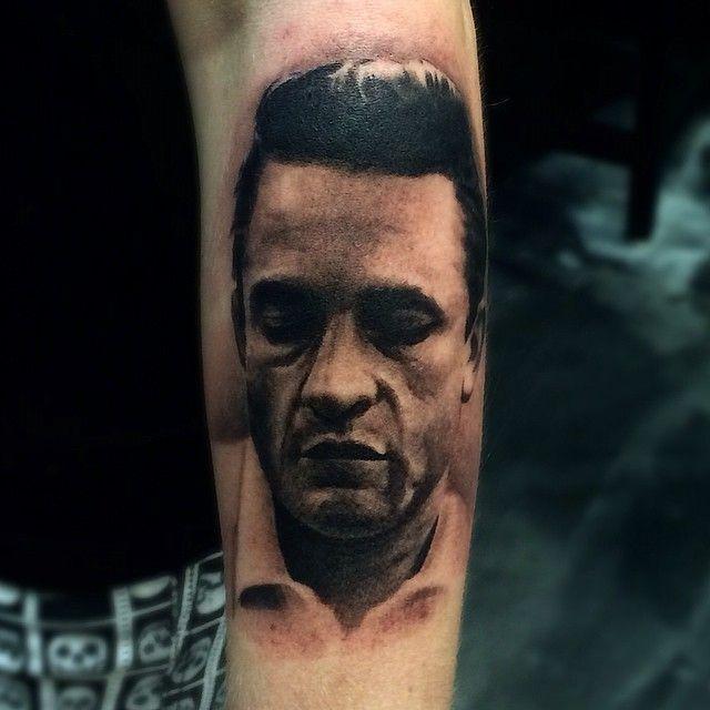 Best 25+ Johnny Cash Tattoo Ideas On Pinterest