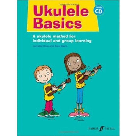 Faber Ukulele Basics Tuition Book and CD The Ukulele Basics tuition book by Lorraine Bow and Alex Davis is the ideal tool for beginner ukulele players. Including a set of easy to follow lessons tunes and exercises this book is suitable for b http://www.MightGet.com/january-2017-11/faber-ukulele-basics-tuition-book-and-cd.asp