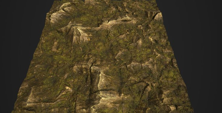 ArtStation - Substance_Designer - 100% procedural Mossy Rock Revisited, Robert Wilinski
