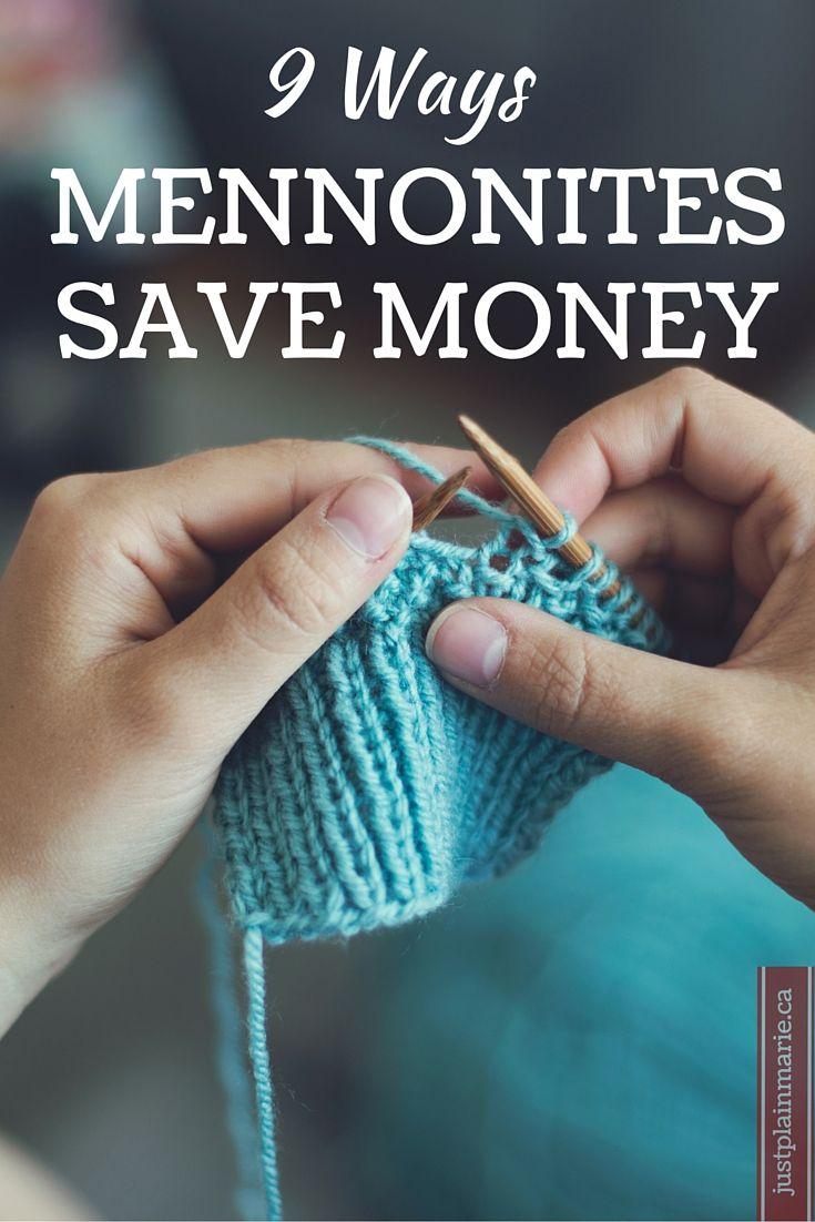 How do plain mennonites save money simple living for Minimalist living money