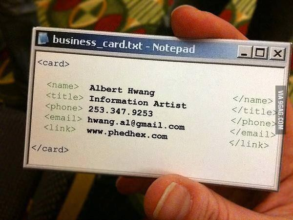 15 best oryon images on pinterest carte de visite funny images awesome business card colourmoves