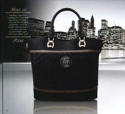 Black professional handbag