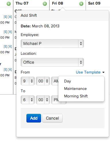 10 best Employee Scheduling App images on Pinterest Software - shift schedule template