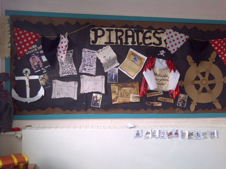 A display I did last year for pirates topic!