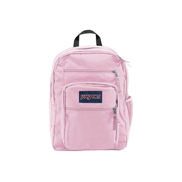 JanSport Big Student Backpack ($48) ❤ liked on Polyvore featuring bags, backpacks, jansport daypack, laptop rucksack, floral backpack, pocket backpack and shoulder strap backpack