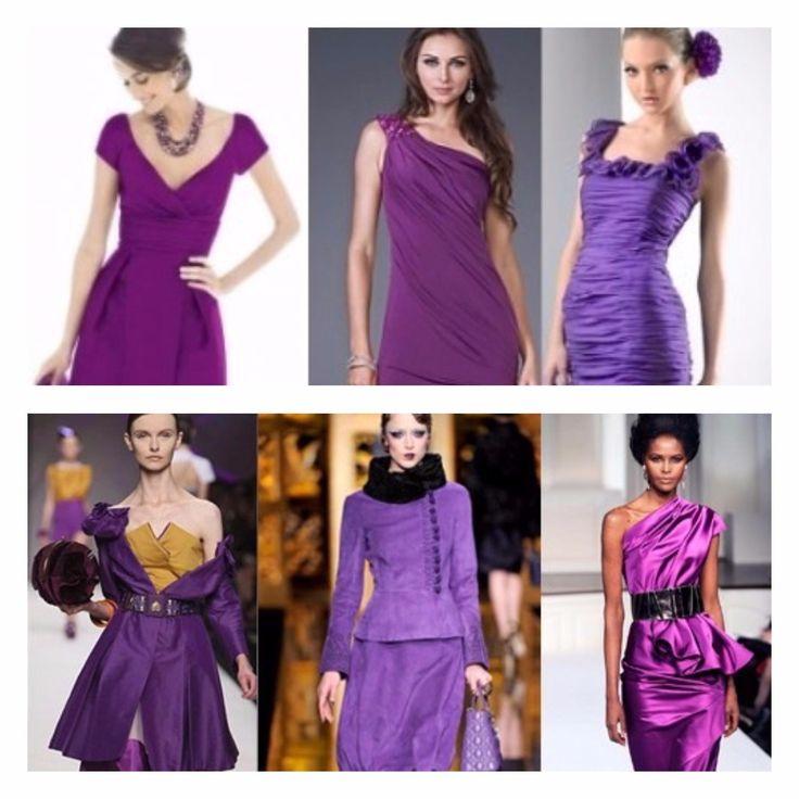 Лиловое платье: советы по подбору наряда, туфель и аксессуаров.