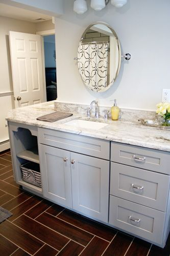 17 Best Images About Bathroom Remodel On Pinterest Traditional Bathroom Marbles And Gray Cabinets
