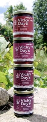 Vicky Day Preserves. #Vermont #berries #jam