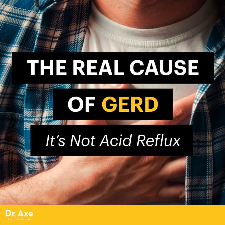 The Real Cause of GERD (It's Not Acid Reflux) - Dr. Axe