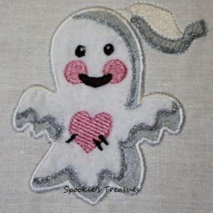 STE010_03  http://www.spookiestreasures.com/products/applique-little-ghost-4x4-2