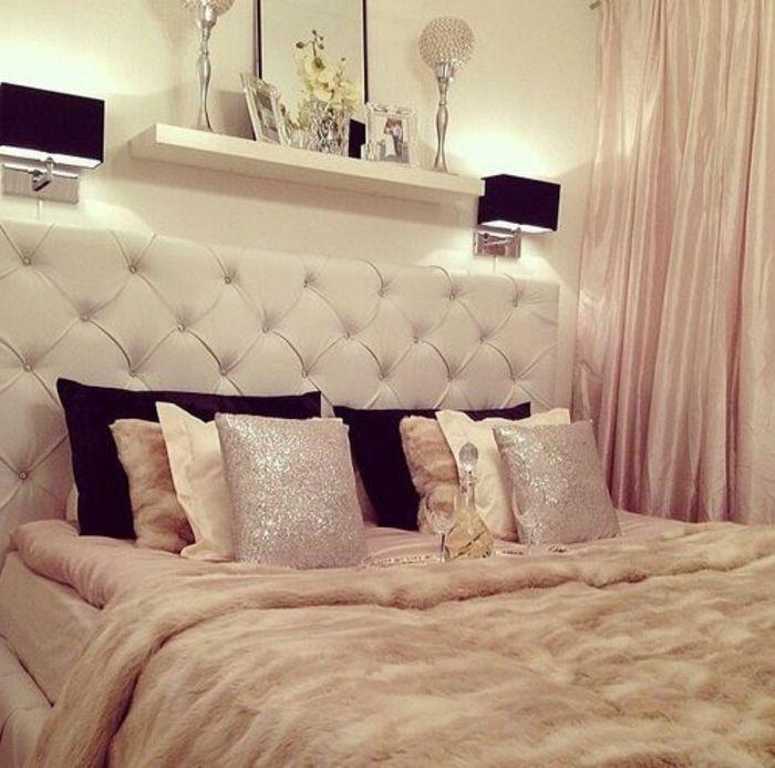 jolie et originale tete de lit captionné pour la chambre a coucher