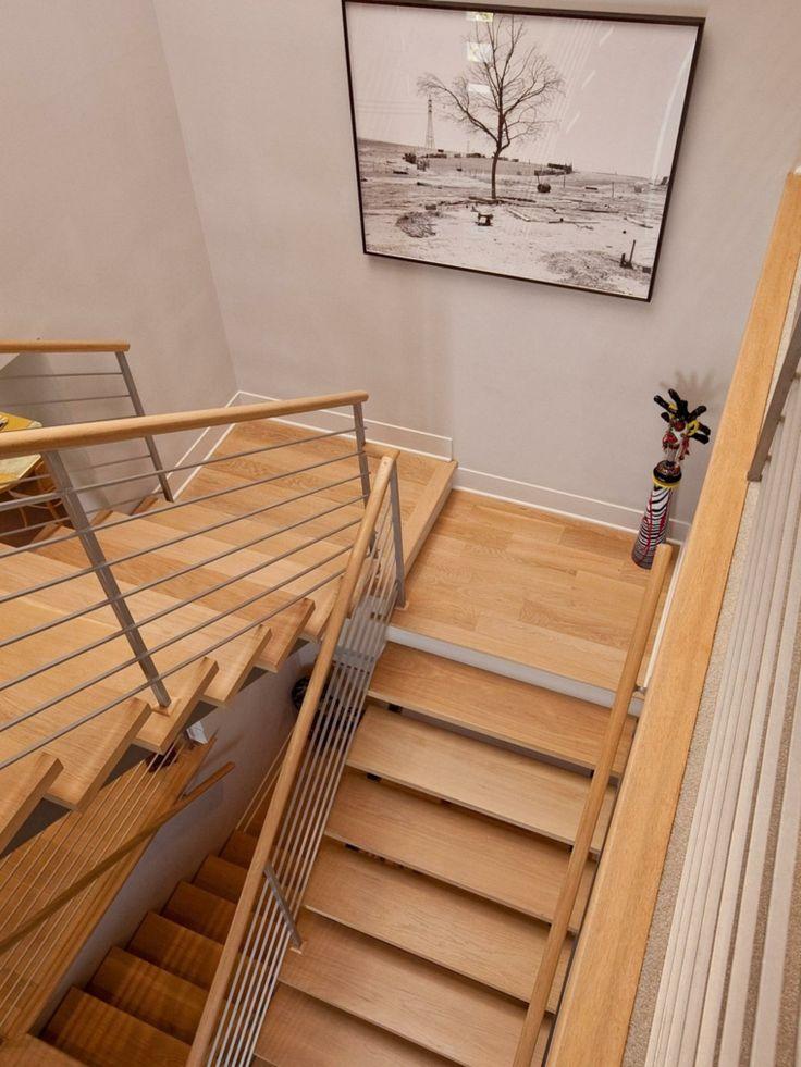 M s de 25 ideas incre bles sobre escaleras laminadas en - Escaleras de madera modernas ...