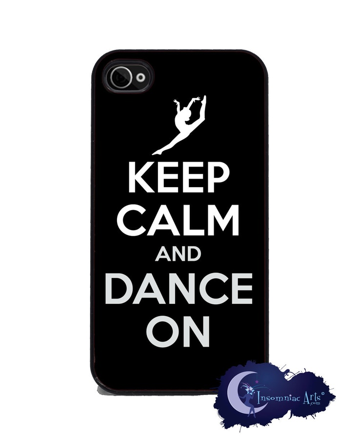 Keep Calm and Dance On - iPhone 4/4s Cover. $15.99, via Etsy. getting this no matter whatPhones Cas