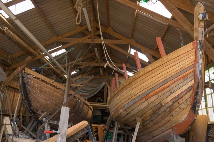 Wooden boatbuilding is alive and well in Douarnenez  #Bretagne - Finistère - #Douarnenez