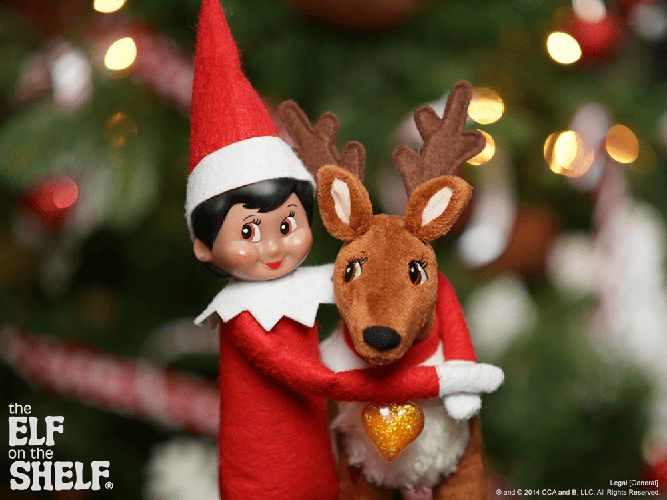 Elf on the Shelf Ideas | Hug It Out | The Elf on the Shelf®