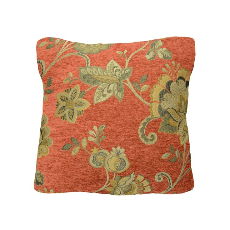 Brown Floral Throw Pillow : 25+ best ideas about Floral throws on Pinterest Accent pillows, Floral pillows and Throw pillows
