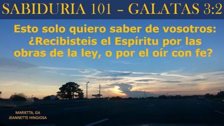 GALATAS 3:2 - MARIETTA, GA