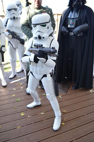 Aren't you a little short for a Stormtrooper?  Star Wars fans worldwide join to build a Halloween costume for one lucky little girl.