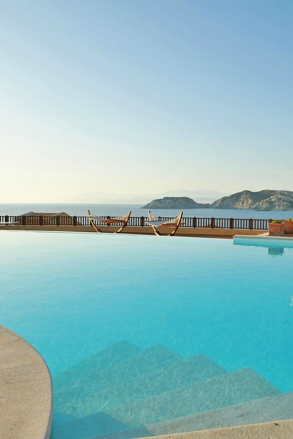 Simply the best view from the luxury Sea Side Resort and Spa! #crete #travel #hotel #sea