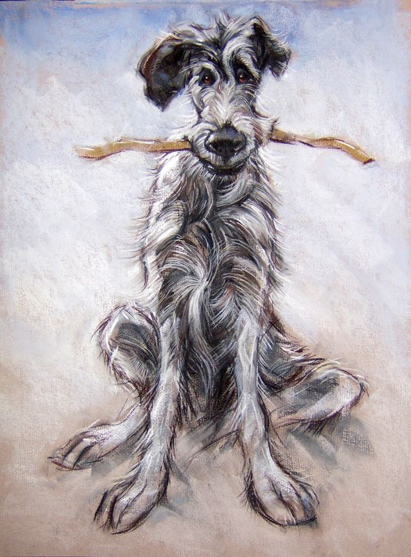 Good Boy Original Acrylic and Limited Edition Prints Available here in The North East Art Collective Eldon Garden Newcastle