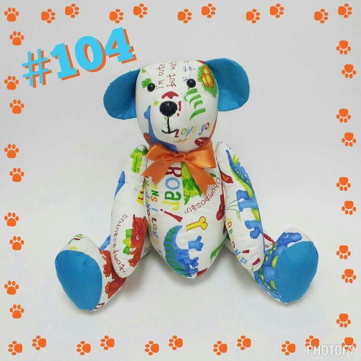 #104 #DinoIBear #Dinosaurs #Teddy #Bear