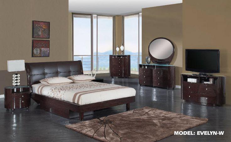 glass bedroom furniture sets