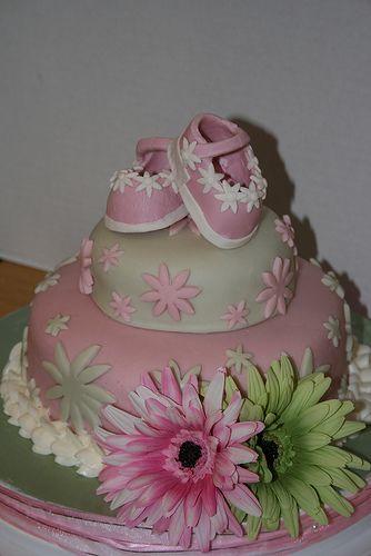 Daisy Baby shower Cake #timelesstreasure.theaspenshops.com