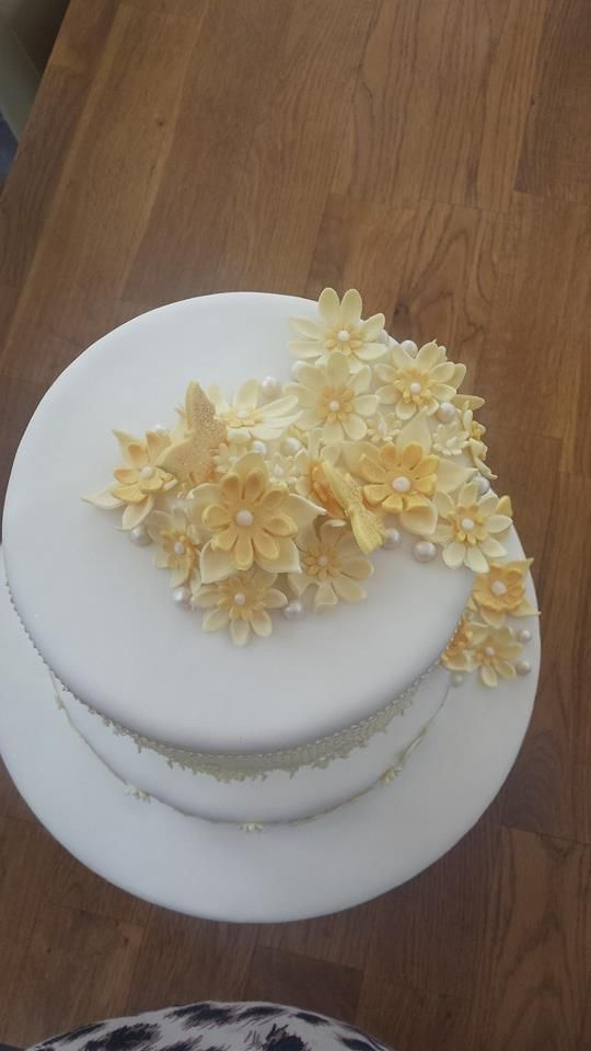 top of lace cake